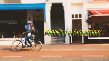 Pedalling in Amsterdam thumnail 720p